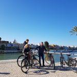 alquiler de bicis en sevilla guadalquivir ruta